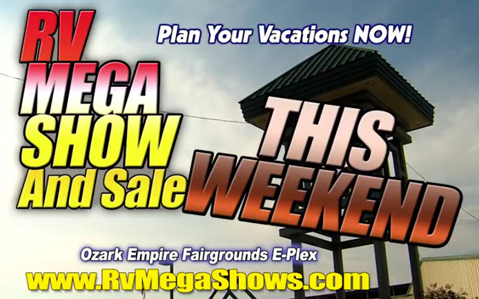 Springfield MO RV Mega Show March 6-8 2020