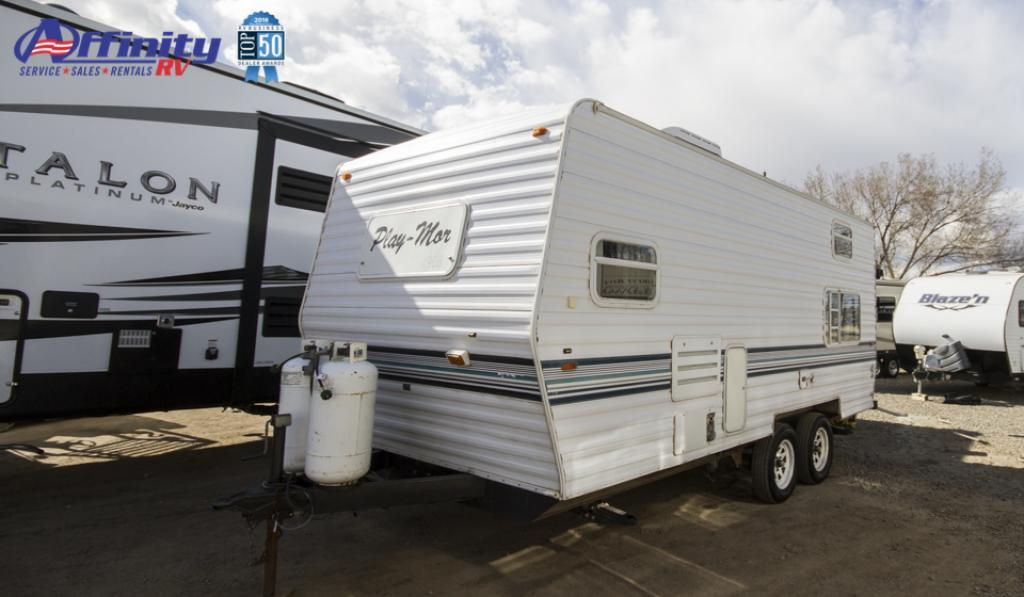 Used 2002 Play-Mor Eleven Series M2111 Travel Trailer at