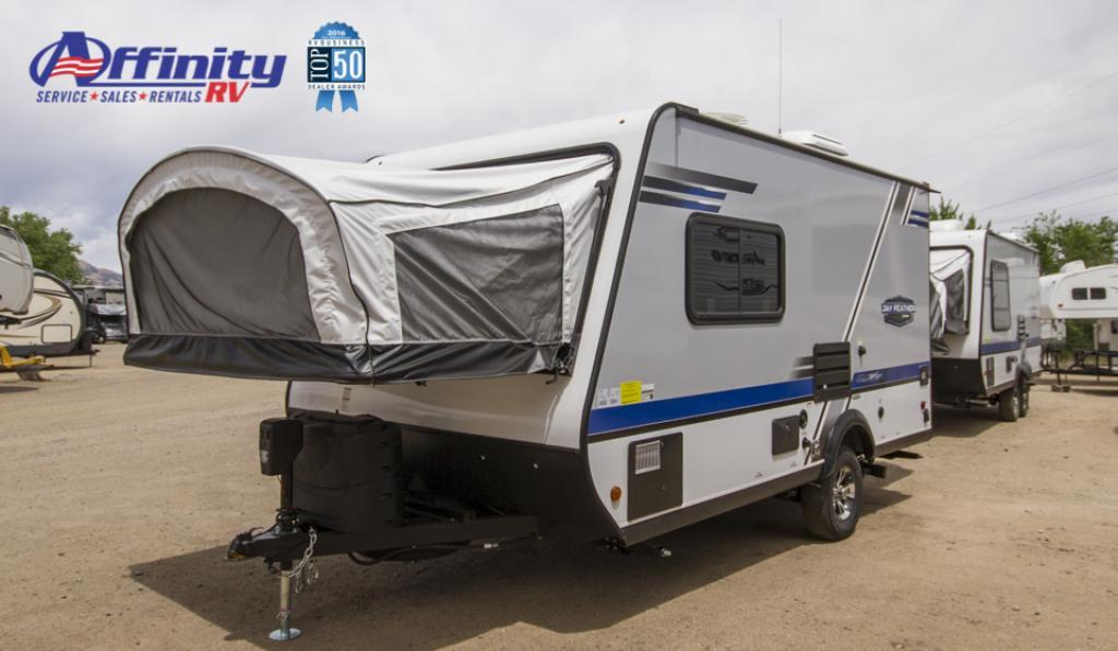New 2018 Jayco Jay Feather X17Z Travel Trailer at Affinity RV