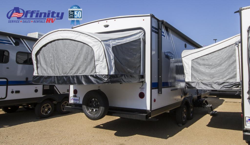 New 2019 Jayco Jay Feather Hybrid X23 Travel Trailer at Affinity RV