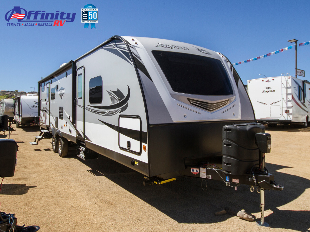 New 2019 Jayco White Hawk 32BHS Travel Trailer at Affinity