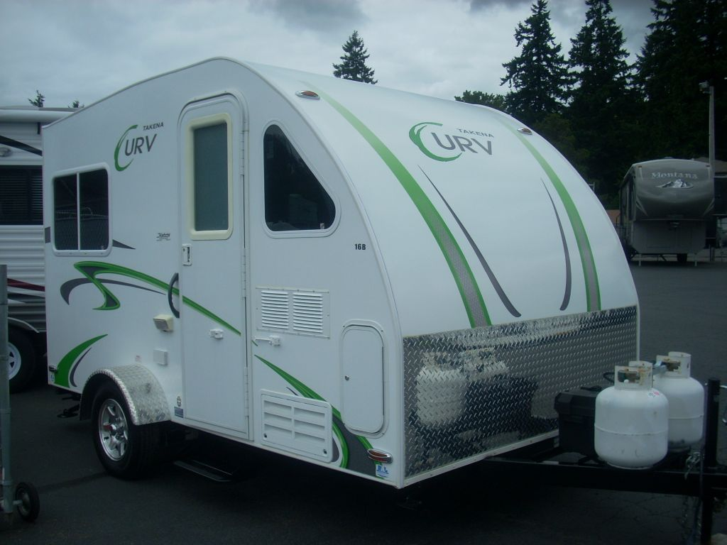 Ultra Lite Travel Trailers >> Used 2011 Chalet Takena Curv 16b Travel Trailer at Al's Trailer Sales | Salem, OR | #25009-S