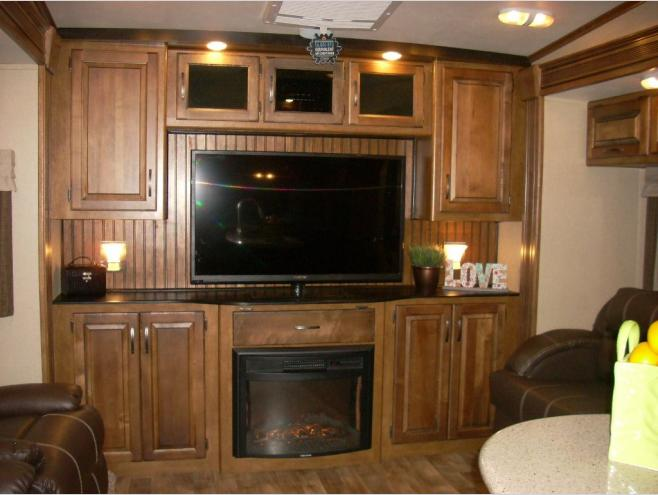 New Grand Design Reflection RES Fifth Wheel At Als Trailer - Al's kitchen cabinets