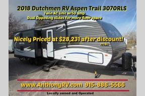 New 2018 Dutchmen RV Aspen Trail 3070RLS Photo