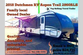 New 2018 Dutchmen RV Aspen Trail 2860RLS Photo