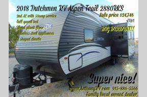 New 2018 Dutchmen RV Aspen Trail 2880RKS Photo
