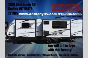 New 2018 Dutchmen RV Kodiak Ultimate 2711BS Photo