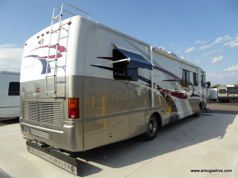 Used 1999 Holiday Rambler Endeavor 37CDS4 Motor Home Class A