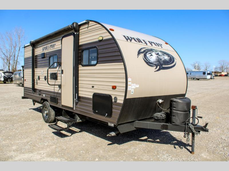 Pre-Owned 2017 Forest River RV Cherokee Wolf Pup 18TO