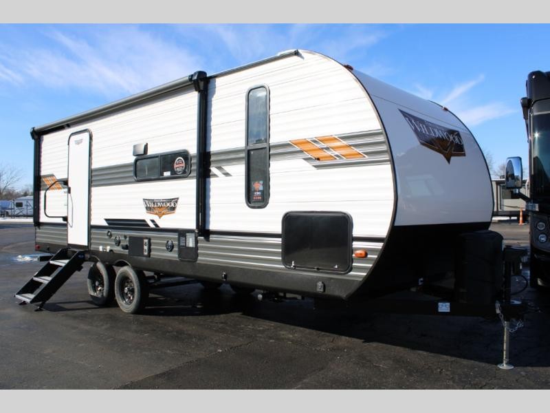 New 2021 Forest River RV Wildwood 22RBS