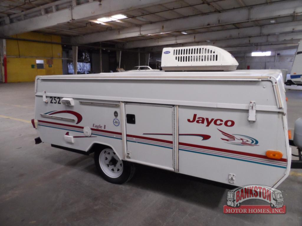 Used 1998 Jayco Eagle 8 Folding Pop Up Camper At Bankston