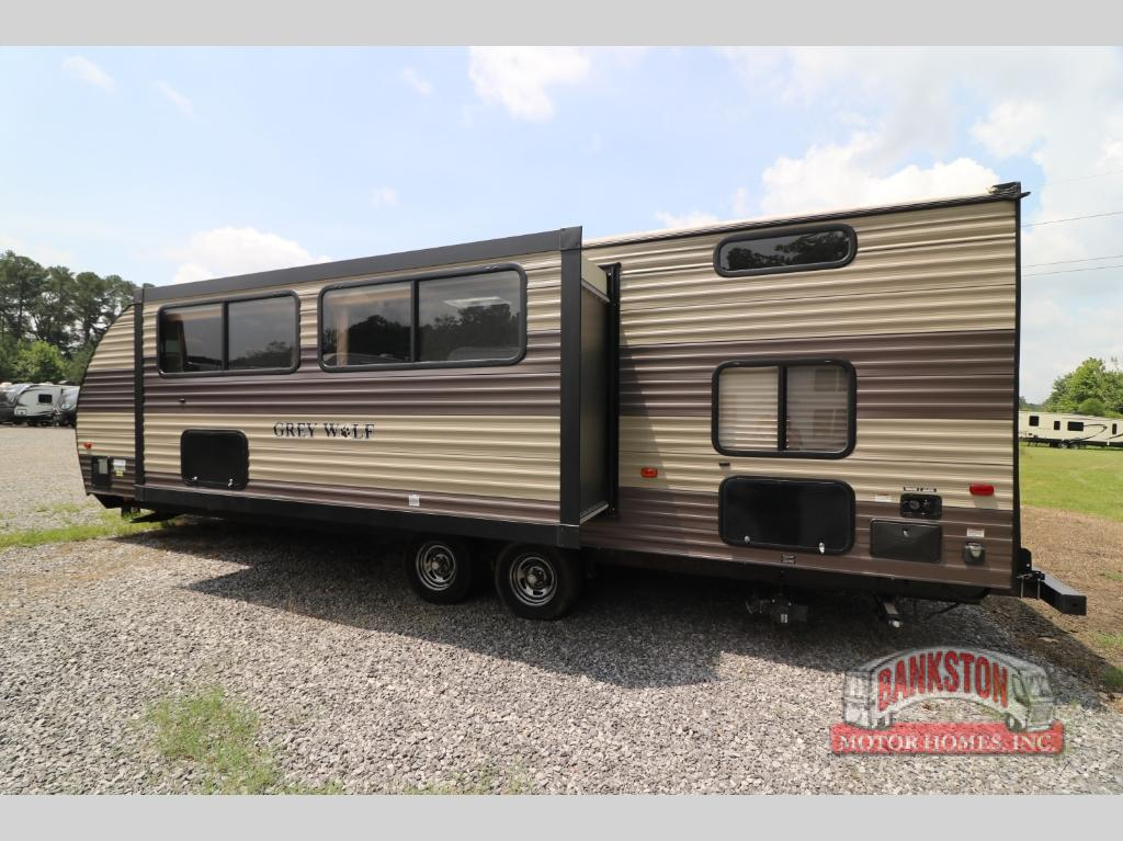 Used 2017 Forest River Rv Cherokee Grey Wolf 26bh Travel