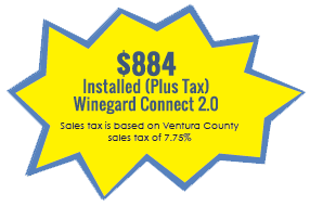 $868.63 Installed (Includes Tax)Winegard Connect 2.0, Sales tax is based on Ventura County sales tax of 7.75%