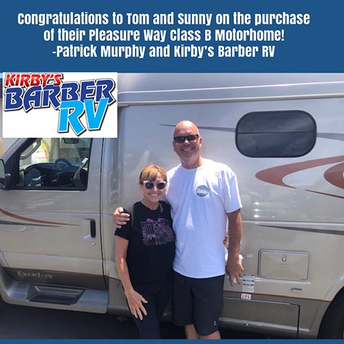 Barber RV Customer