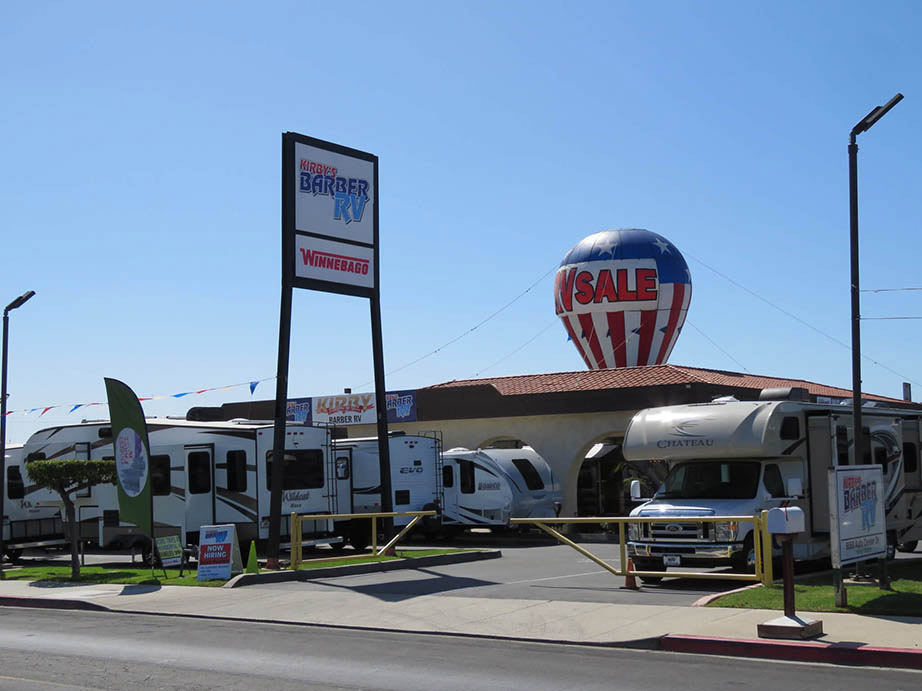 About Barber RV  New & Used Sales, Service & Parts in