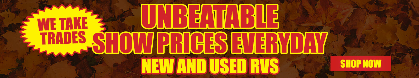 Unbeatable Show Prices Everyday
