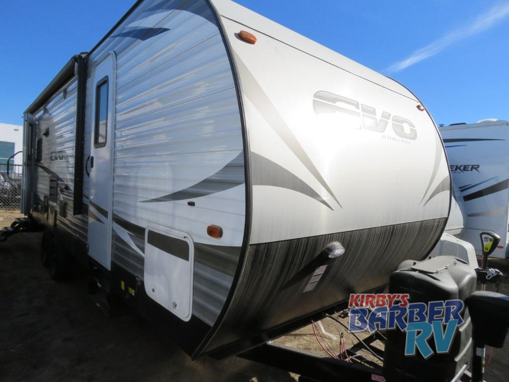 New 2019 Forest River Evo 2460 Travel Trailer At Barber Rv