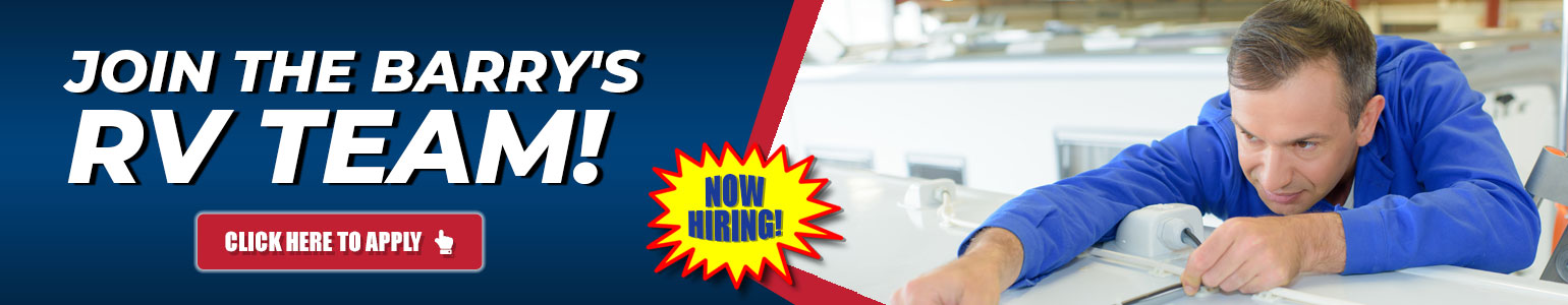 Employment Opportunities with Barry's RV