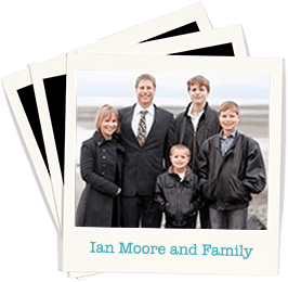 Ian Moore and Family