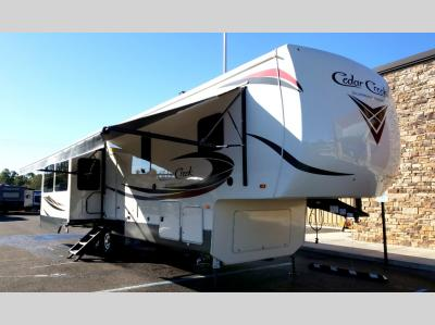 Cedar Creek Silver Back Edition Fifth Wheels For Sale At