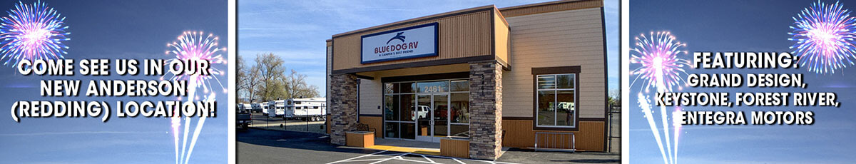 Blue Dog RV Anderson Now Open