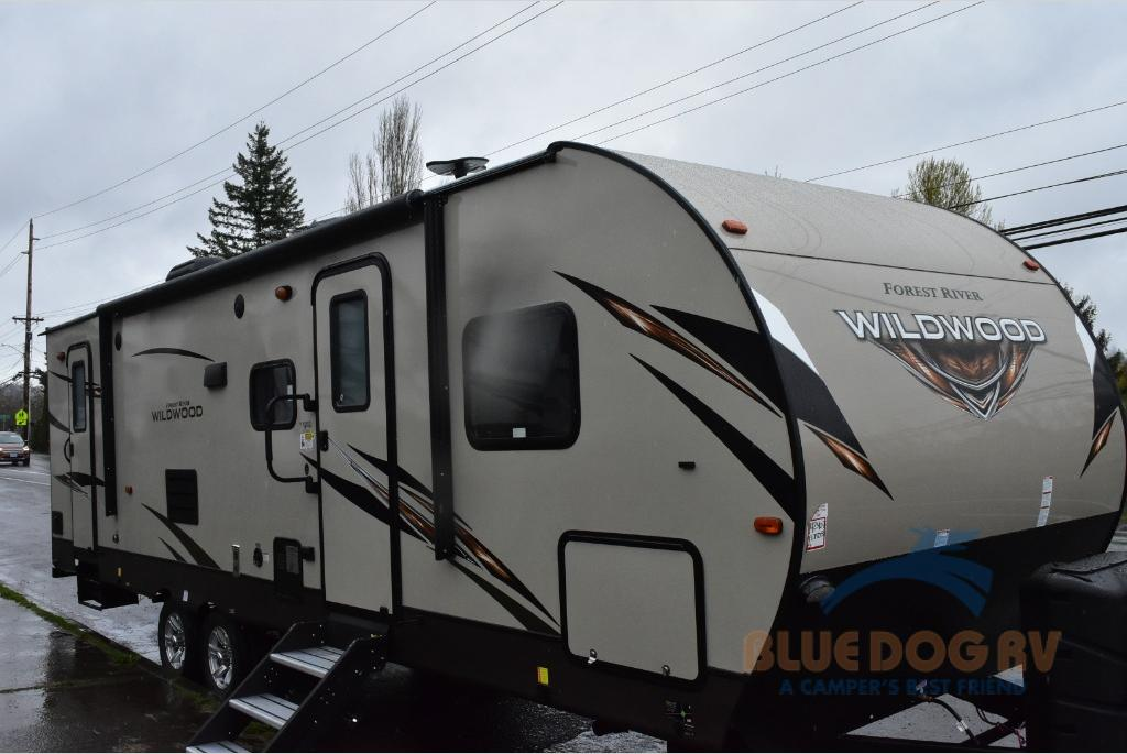 154c028af9d New 2019 Forest River RV Wildwood 27TDSS Travel Trailer For Sale at ...