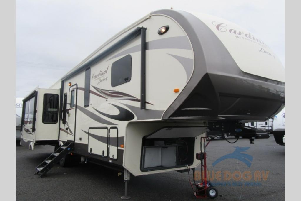 New 2018 Forest River Rv Cardinal Luxury 3456rl Fifth