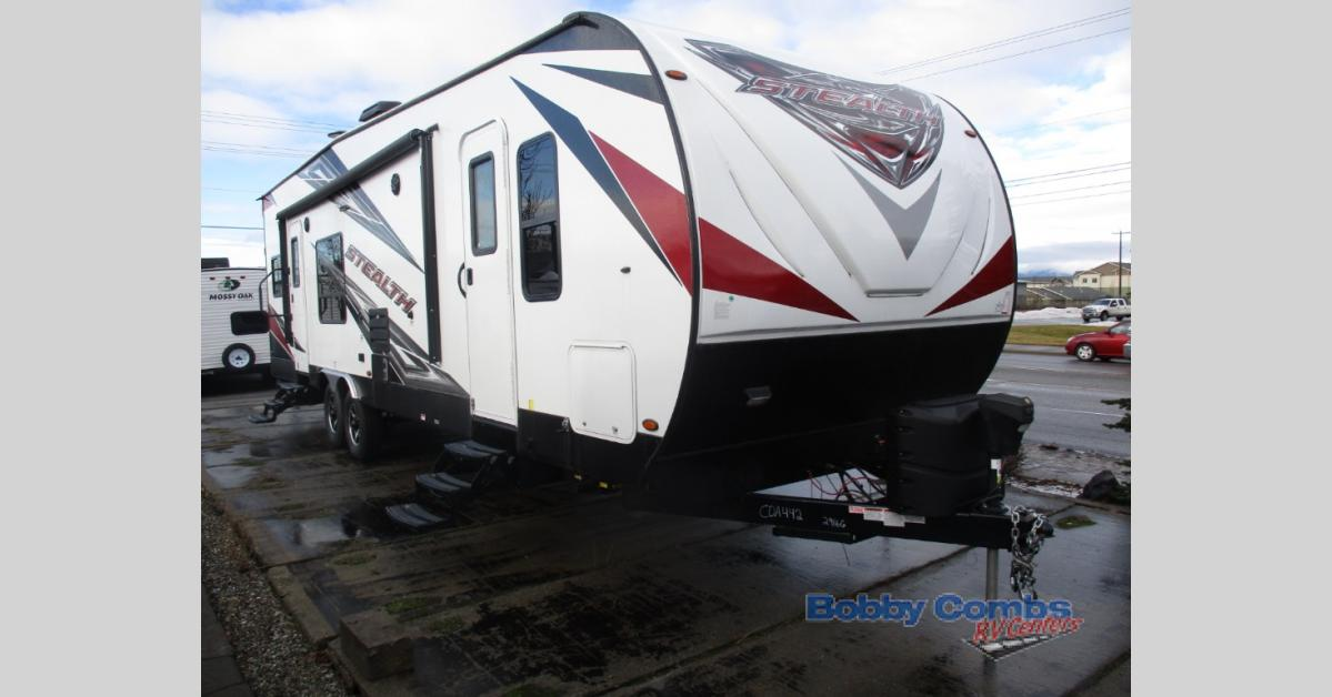 New 2018 Forest River RV Stealth FQ2916 Toy Hauler Travel