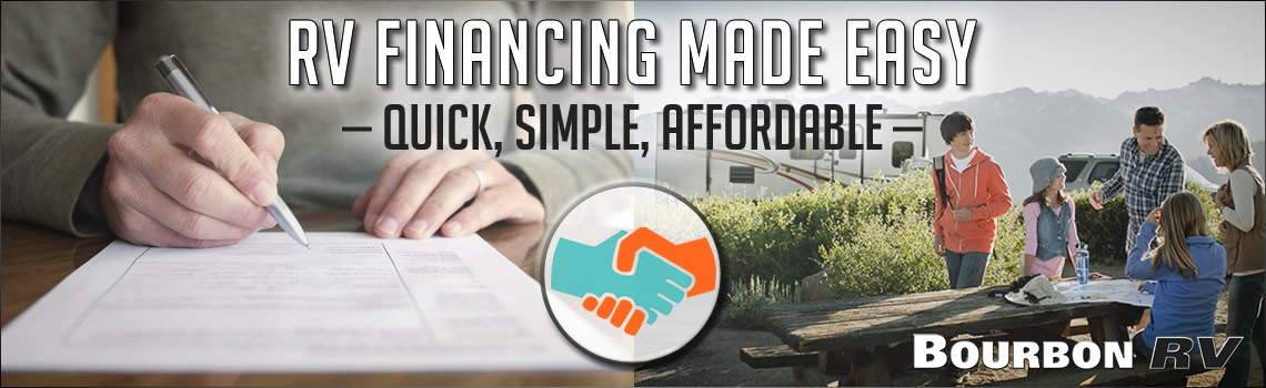 RV Financing Made Easy - Quick, Simple Affordable
