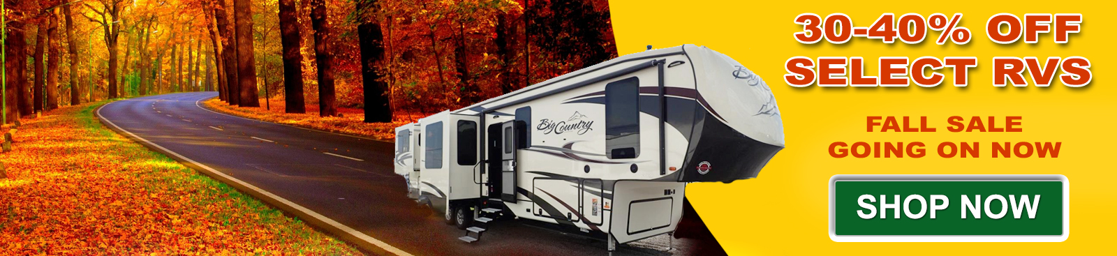 New RVs On Sale