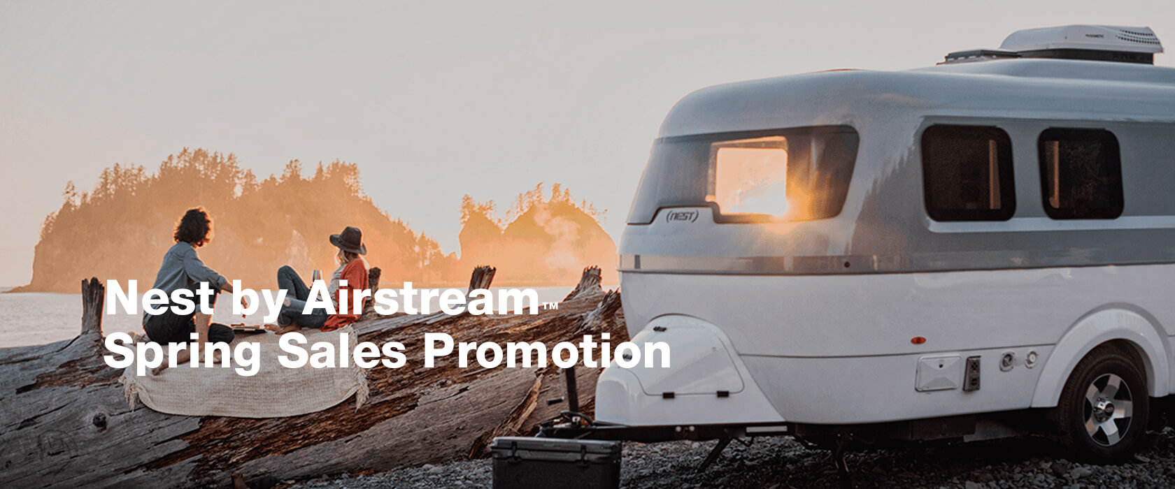 Nest by Airstream - Spring Sales Promotion
