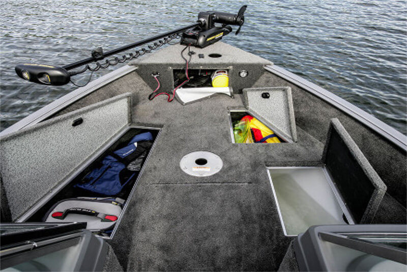 Front Bow of fishing boat
