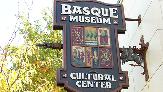 Basque Museum & Center Outdoor Sign