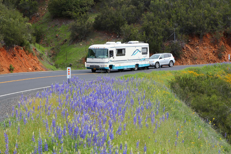 Class A Motorhomes Towing
