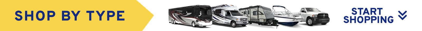 View RV Types Banner