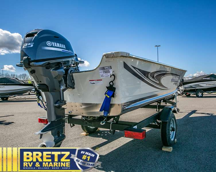 2021 Smoker Craft boat for sale, model of the boat is Alaskan 15 DLX & Image # 15 of 20