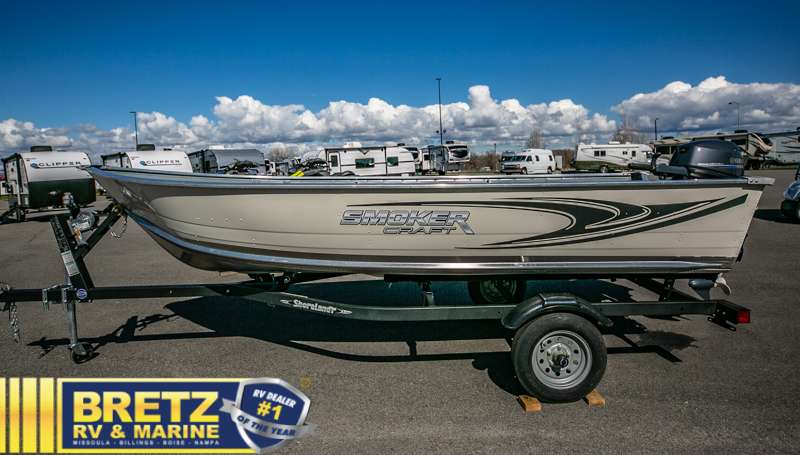2021 Smoker Craft boat for sale, model of the boat is Alaskan 15 DLX & Image # 14 of 20