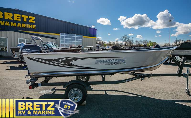 2021 Smoker Craft boat for sale, model of the boat is Alaskan 15 DLX & Image # 13 of 20