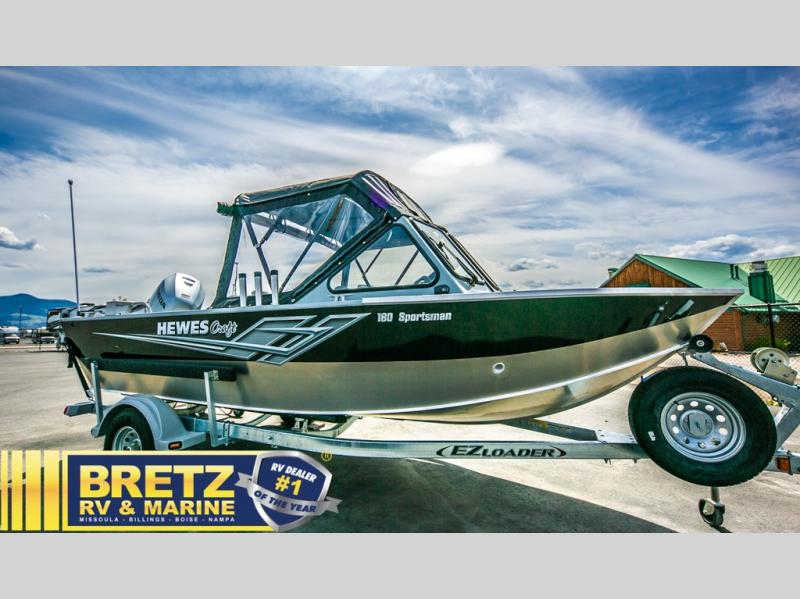 2021 Hewescraft boat for sale, model of the boat is Sportsman 180 & Image # 5 of 16