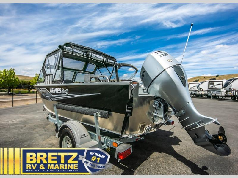 2021 Hewescraft boat for sale, model of the boat is Sportsman 180 & Image # 3 of 16