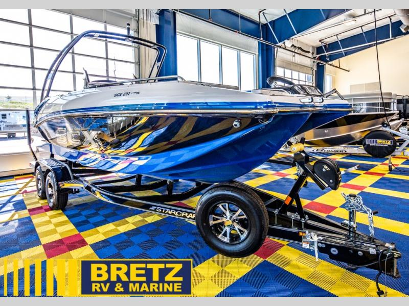 2021 Starcraft boat for sale, model of the boat is SCX Surf Series 211 l/O Surf & Image # 15 of 17