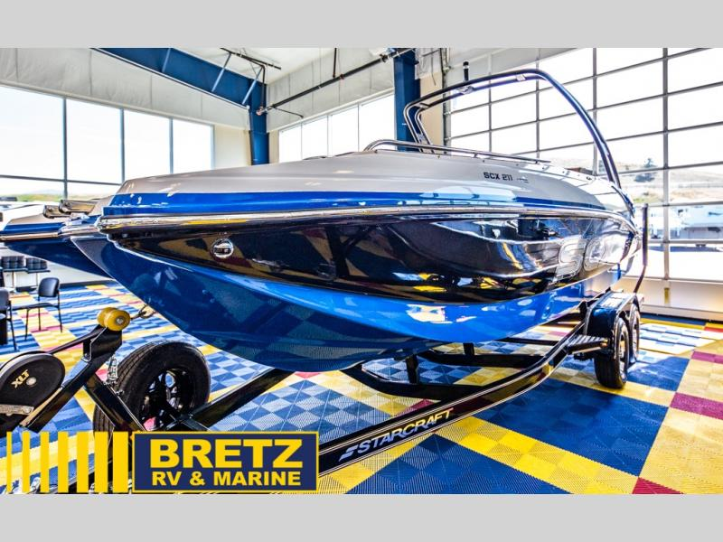 2021 Starcraft boat for sale, model of the boat is SCX Surf Series 211 l/O Surf & Image # 4 of 17