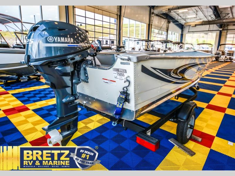 2021 Smoker Craft boat for sale, model of the boat is Alaskan 15 DLX & Image # 4 of 20