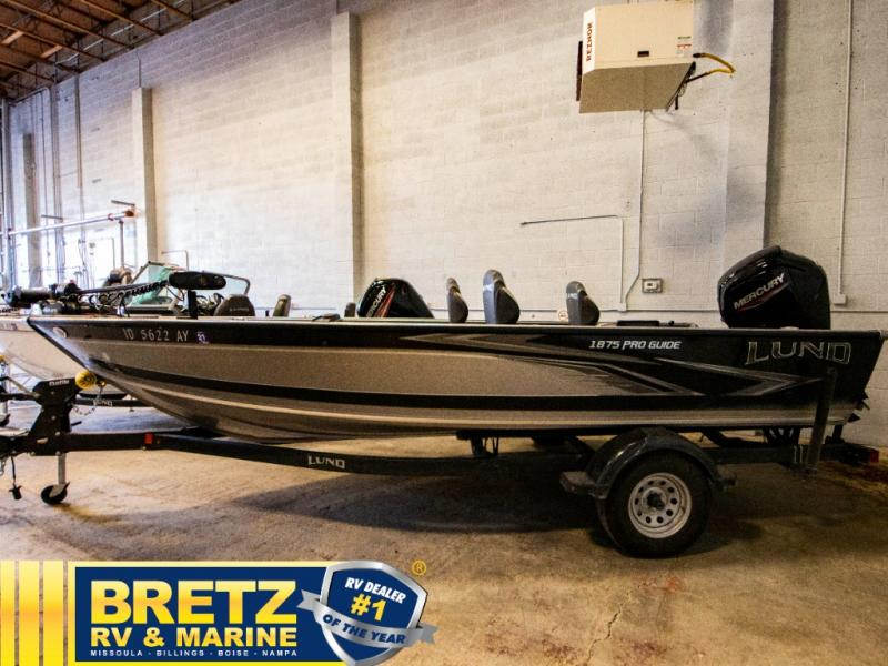 2020 Lund boat for sale, model of the boat is Pro Guide 1875 & Image # 4 of 19
