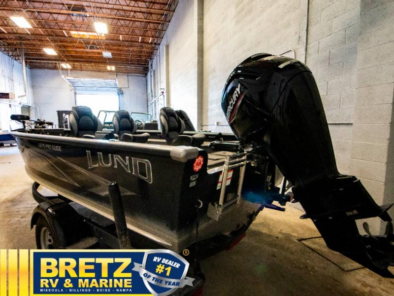 2020 Lund boat for sale, model of the boat is Pro Guide 1875 & Image # 5 of 19
