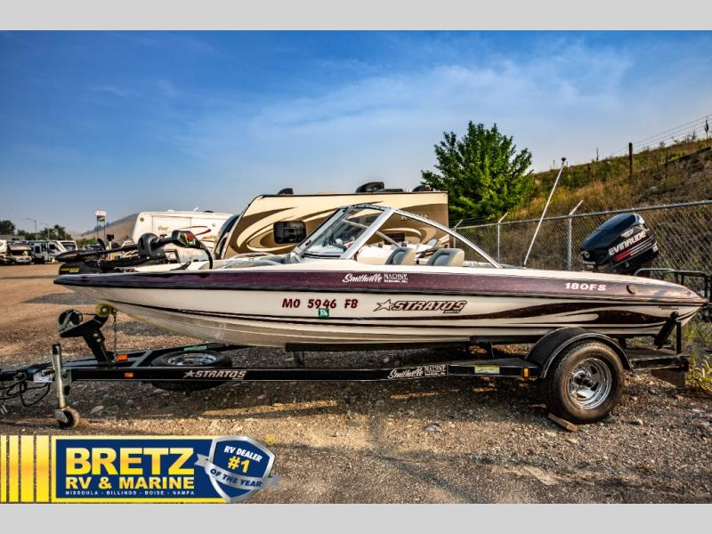 2004 Stratos boat for sale, model of the boat is Stratos 180FS & Image # 4 of 14