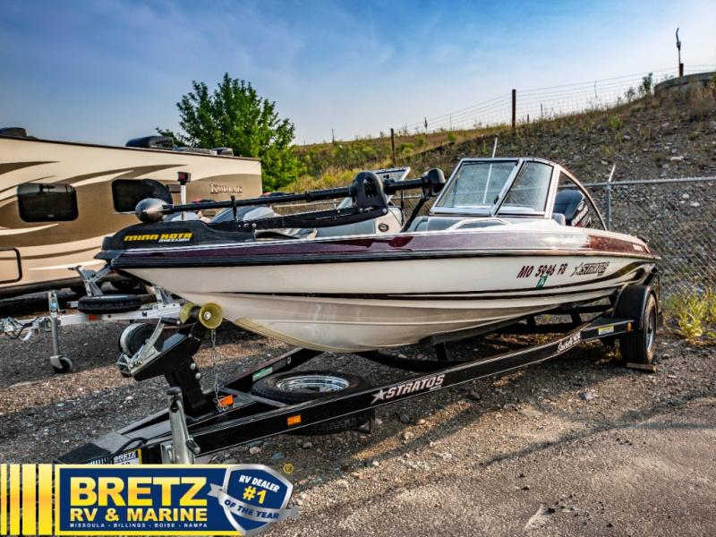 2004 Stratos boat for sale, model of the boat is Stratos 180FS & Image # 3 of 14