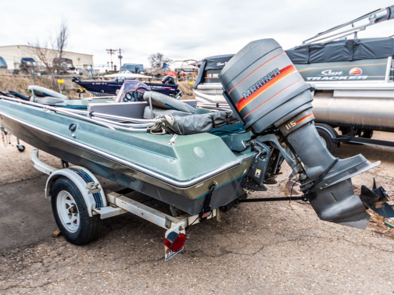 1989 Smoker Craft boat for sale, model of the boat is Smoker Craft 17 & Image # 6 of 11