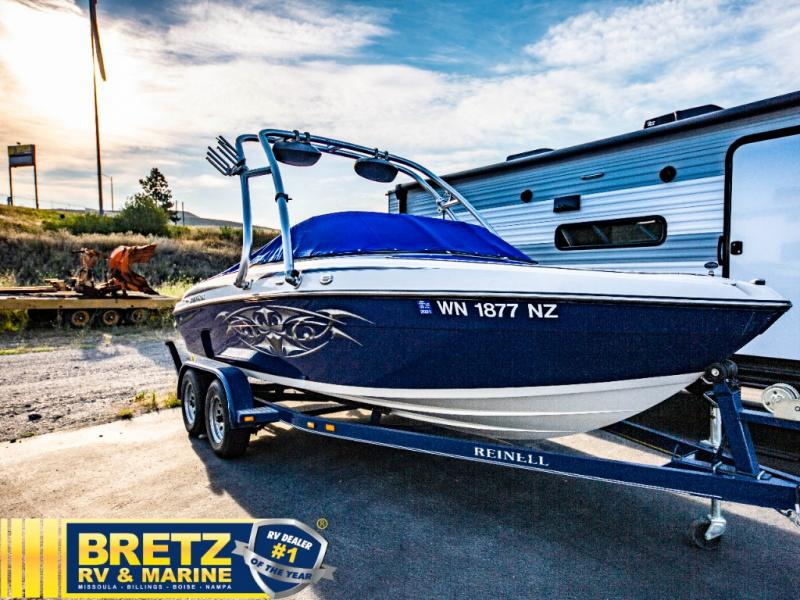 2009 Reinell boat for sale, model of the boat is Reinell 197LX & Image # 9 of 11