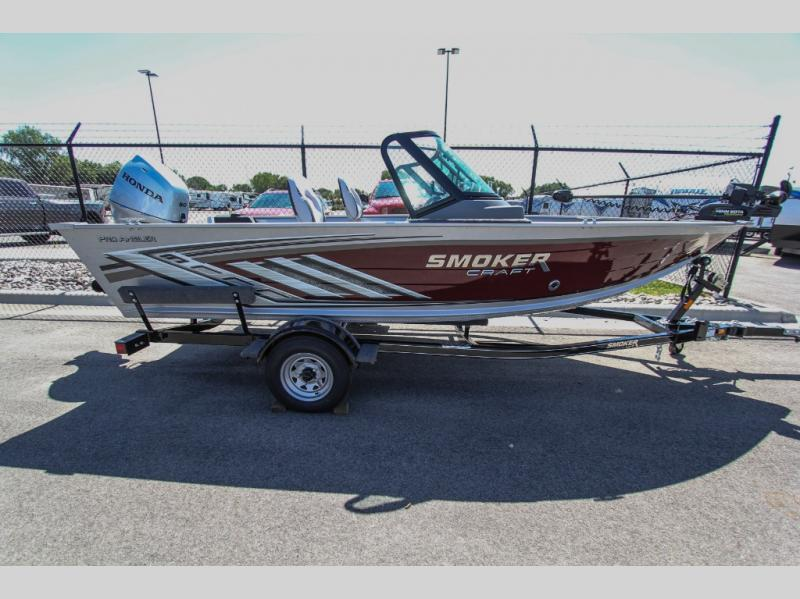 2021 Smoker Craft boat for sale, model of the boat is Pro Angler 162 & Image # 4 of 13
